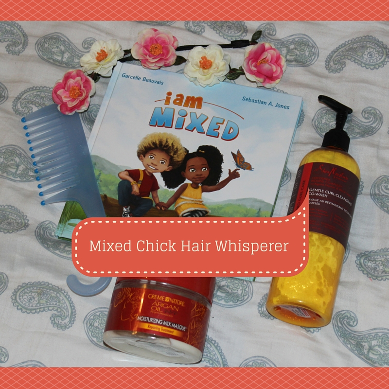 mixed chick hair whisperer