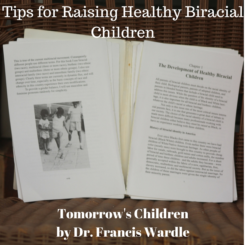 tips for raising healthy biracial children
